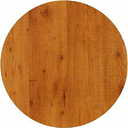 Werzalit  hochwertige TischplattePinie  Runde Form 60 cmBistrotisch  BistrotischeGartentisch  Gastronomie