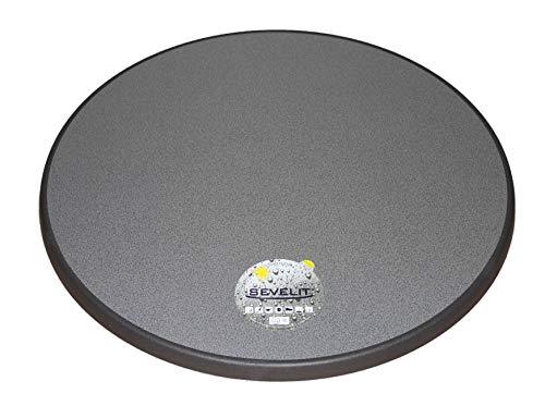 Sevelit Tischplatte Dekor weiß oder puntinella 70 cm rund wetterfest Ersatztischplatte Bistrotisch Stehtisch Tisch Gastronomie Puntinella