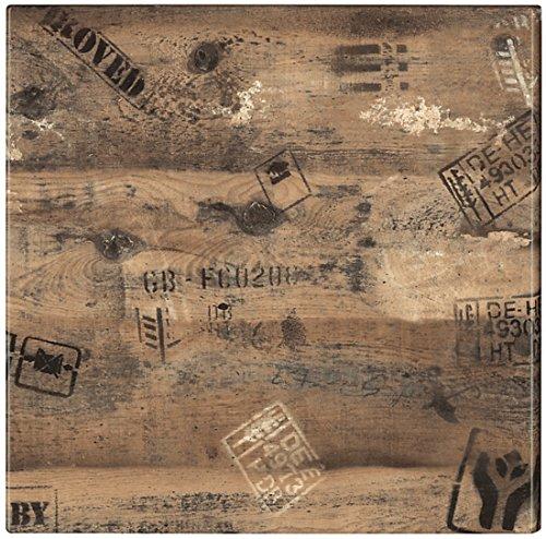 Tischplatte Werzalit Dekor Ex Works 80 x 80 cm wetterfest Ersatztischplatte Bistrotisch Stehtisch Tisch Gastronomie