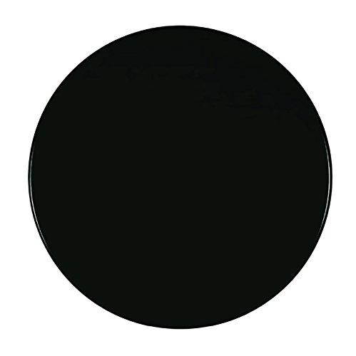 Werzalit Tischplatte Dekor schwarz 70 cm rund Wetterfest Ersatztischplatte Bistrotisch Stehtisch Tisch Gastronomie