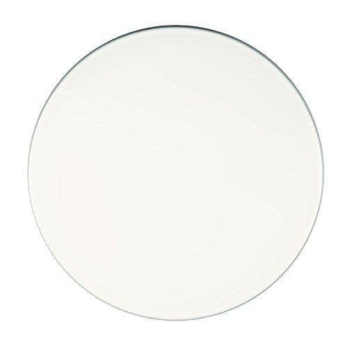 Werzalit Tischplatte Weiß 60 cm rund Wetterfest Ersatztischplatte Bistrotisch Stehtisch Tisch Gastronomie