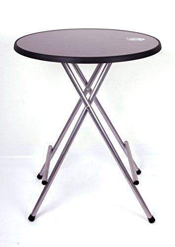 Stehtisch Profi 110 x Ø85cm Sevelit grau Marke Szagato  Stehbiertisch Bistrotisch Biertisch Bartisch Partytisch