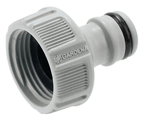 GARDENA Hahnverbinder 265 mm G 34 Anschluss für Wasserhähne mit Gewinde wasserdichte Schlauchverbindung einfache Handhabung 18201-50