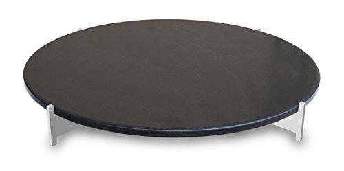 LotusGrill XL Pizzastein-Set XL Speziell entwickelt für den raucharmen HolzkohlegrillTischgrill