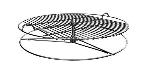 GrillUp Höhenverstellbar BBQ Grillrost  100 Edelstahl  Passend für Weber und Andere 57cm 22 Anthrazit Wasserkocher Grills