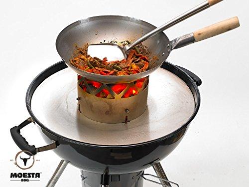 WOKN BBQ Komplettpaket - für Kugelgrill 57cm