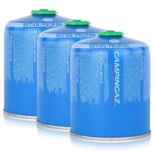 Campingaz Ventil-Gaskartusche CV470 Plus 450g - ButanPropan Gas 3er Pack
