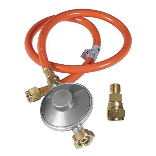 Outdoorchef Gasdruckregler mit Schlauch und Adapter DEAT