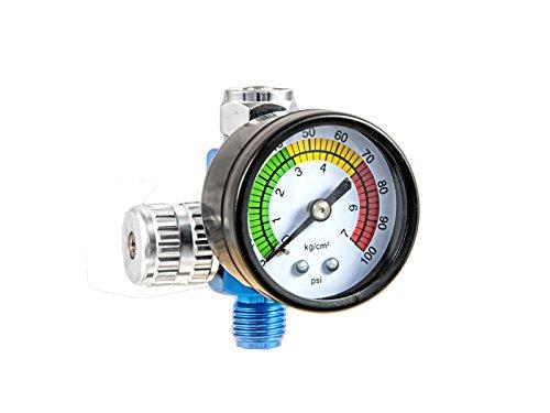 T4W Druckregler mit Manometer für Lackierpistolen 59405