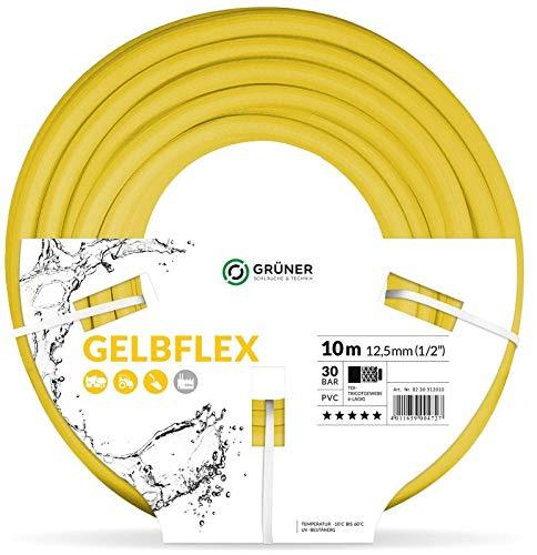 Caleido-Concept GELBFLEX Gartenschlauch Wasserschlauch PVC gelb 34 25m