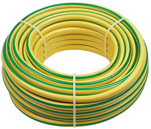 Meister Schlauch Trikotgewebe 127 mm 12 Zoll - 30 m Länge - Elastisch - Abriebfest - Trittfest  Gartenschlauch aus Erst-PVC  Wasserschlauch  Gewebeschlauch UV-beständig für draußen  9920140