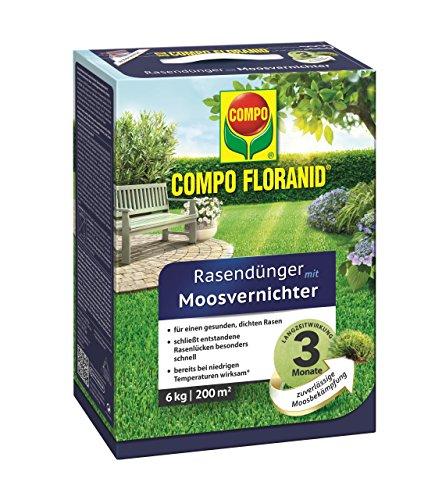 Compo Floranid Rasendünger MV mit Moosvernichter 6 kg