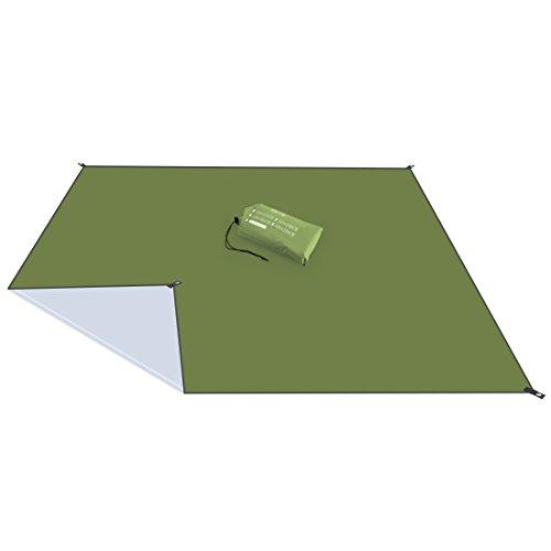 Diswoe Outdoor Picknickdecke Picknick-Matte Campingdecke Stranddecke Matte Decke Wasserdicht für Strände Picknicks Parks Camping und Outdoor-Aktivitäten Picknick Matte 210x150cm Armeegrün