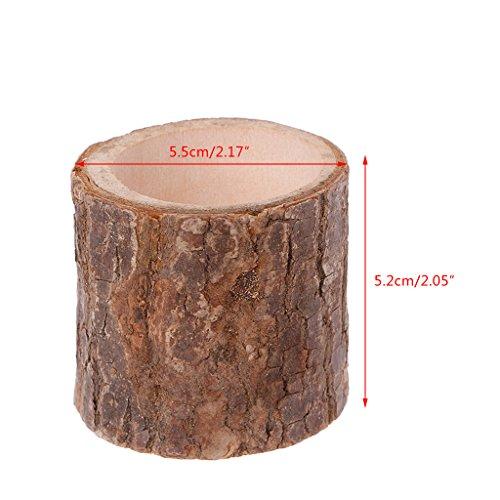 Lergo Kerzenhalter aus Holz für Hochzeitstisch Party Home Decor