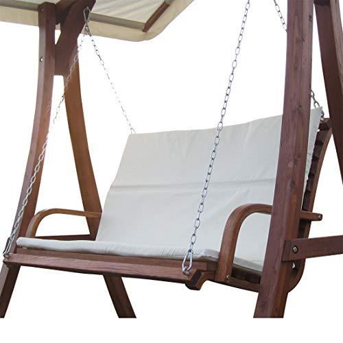 ASS Design Bank aus Holz Lärche für Hollywoodschaukel 2-Sitzer KUREDO ohne GESTELL von