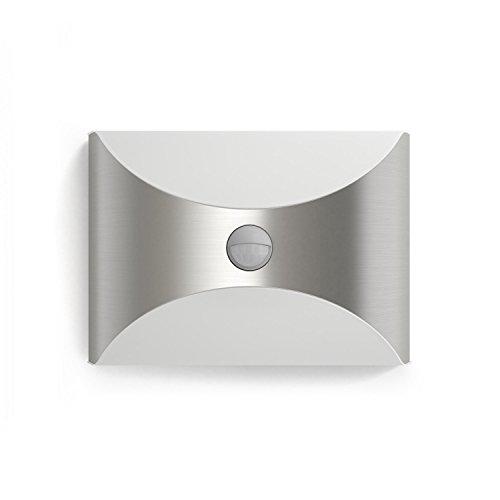 Philips myGarden LED Wandaussenleuchte Herb Bewegungsmelder Metall 6 W Edelstahl 172994716