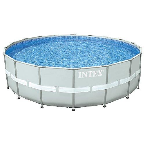 Intex 28332 Ultra Rondo II Frame Pool Set Sandfilteranlage 6056lh Leiter Abdeckplane Bodenschutzplane 549 x 132 cm