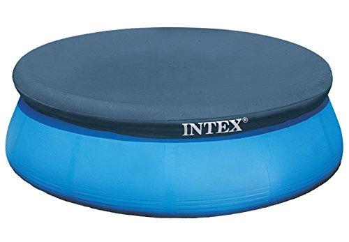Intex Abdeckplane für Easy-Set pool 366 m blau 366x366x01 cm 28022