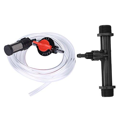 Bewässerung Dünger Injektor Dünger Injector  Schalter  Filter  Wasser Tube Kit G34