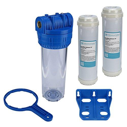 Brunnen Wasser Filter 10 Gehäuse mit 12 Ig Garten Pool mit 2X Eisenfilter