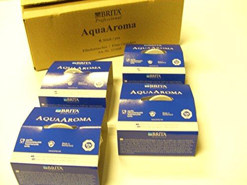 235600-4 - 4 x Brita AquaAroma Wasserfilter Filterkartuschen das absolute Original Für semiprofessionelle Kaffeeautomaten Dürfte so ziemlich das Beste für reines Wasser sein OVP