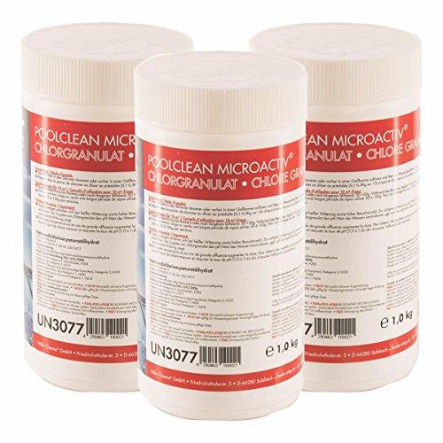 Höfer Chemie 6 kg BAYZID Chlor Granulat wirkt schnell und zuverlässig für Pool und Schwimmbad - versandkostenfrei bestellen