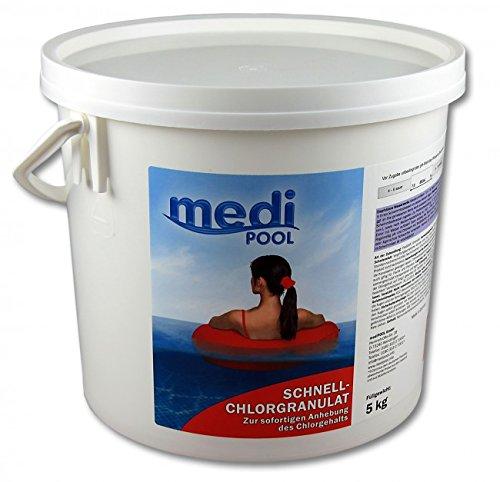 Medipool Schwimmbadpflege Schnell-ChlorGranulat 5 kg