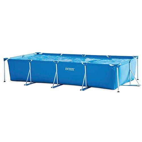 INTEX 28273NP Rectangular Frame Pool Blue 450x220x85cm