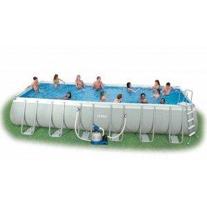 Intex 12-54978 Ultra Quadra II Frame Pool Set 732 x 366 x 132 cm
