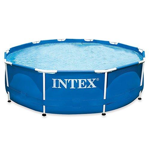 Intex Aufstellpool Frame Pool Set Rondo ohne Filterpumpe blau Ø 305 x 76 cm