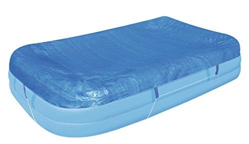 Bestway Flowclear PE-Abdeckplane für rechteckigen Family Pool 305x183x56 cm blau