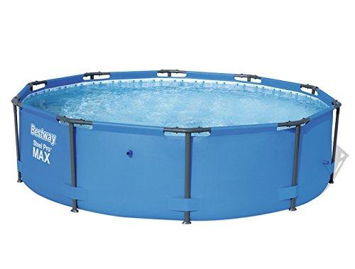 Bestway Steel Pro Frame Pool rund ohne Pumpe blau 305 x 76 cm