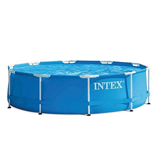Intex Aufstellpool Frame Pool Set Rondo Blau Ø 305 x 76cm