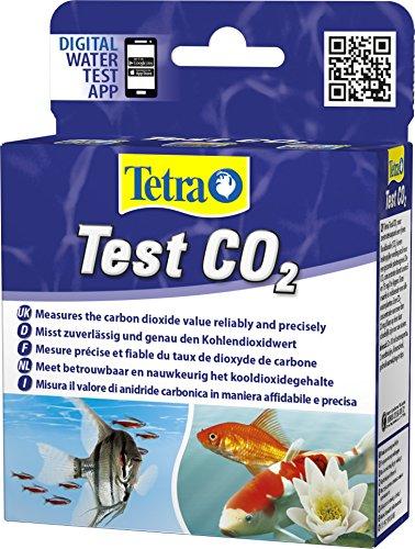 Tetra Test CO2 Kohlendioxid Wassertest für Süßwasseraquarien misst zuverlässig und genau den Kohlendioxidwert