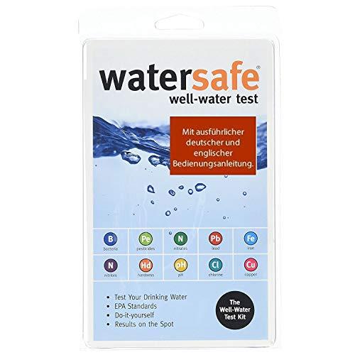 Trinkwasser Wassertest 10 versch Tests in 1 mit deutschenglisch bedienungsanleitung