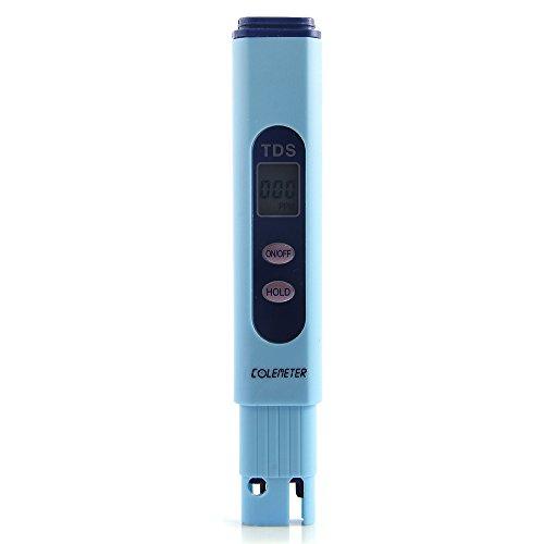 COLEMETER TDS Wassermessgerät Thermometer Wasser Tester Umkehr Osmose Leitfähigkeit Tester