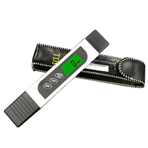 nulala 3-in-1-Digital-TDS-Messgerät genauer Wasserqualitätstester TDS EC und Temperatur zwischen 0-9999 ppm Tragbares Wasserprüfgerät mit ATC für Trinkwasser Aquarien Wasser-Testkit White