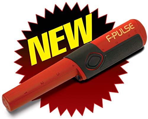 Fisher F-Pulse Pinpointer Metalldetektor wasserdicht Rot