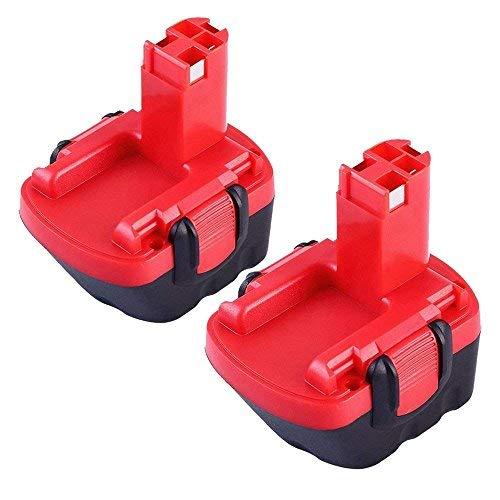2 StückBoetpcr 12V 30Ah Ni-Mh Ersatzakku Werkzeugakku für Bosch Akku GSB 12VE-2 PAG 12v PSB 12VE-2 PSR 12VE-2 2607335692 2607335262 2607335542