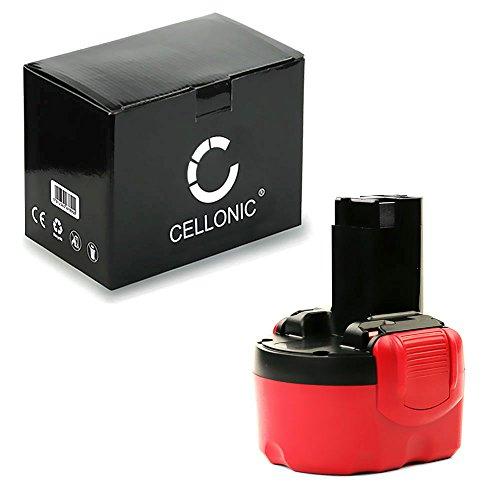 Cellonic Premium Akku 96V 3Ah NiMH für Bosch GLI 96V GSR 96V PLI 96V PSR 96 VE-2 ANGLE EXACT 2 - BAT048 BAT100 BAT119 Ersatzakku Batterie Werkzeugakku