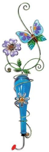 Sunset Vista Design Studios Bunten Glas und Metall Zum Aufhängen Kolibri Feeder Schmetterling