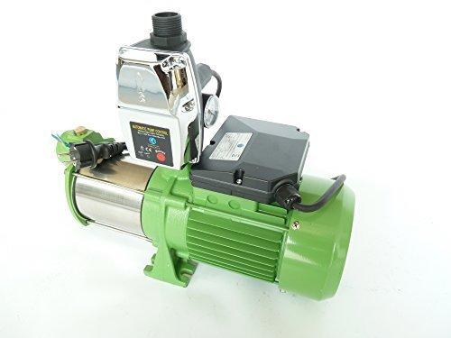 Kreiselpumpe Jetpumpe Gartenpumpe INOX HMC145-4SH Leistung 1100Watt Spannung 230V50Hz Förderleistun 8700 lh 55 bar robuste und rostfreie Edelstahlwelle  integrierter thermischer Schutzschalter  Pumpensteuerung EPC-4 mit Trockenlaufschutz