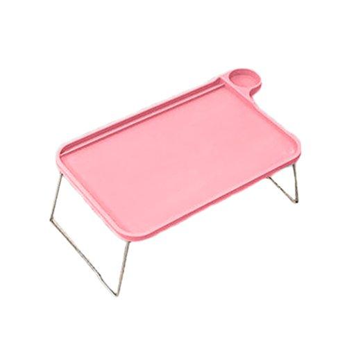bismarckbeer Sofa-Tablett Bett-Tisch mit klappbaren Beinen Laptop Frühstück Bett-Tablett zum Essen Lernen