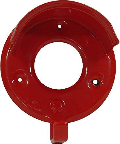 Hochwertiger Haken zum Aufhängen von Zaumzeug Pferdezubehör Trensenzaum Halfter rot Einheitsgröße