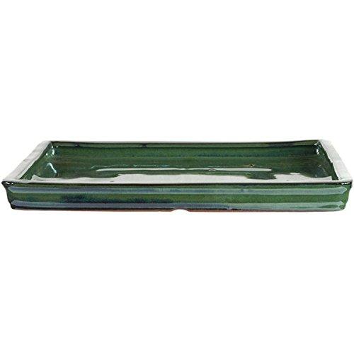 Bonsai Untersetzer 295x24x3cm Grün Rechteckig