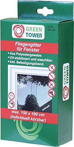 Fenster FliegengitterInsektennetzInsektenschutzanthrazitB x H 150 x 180 cm 2