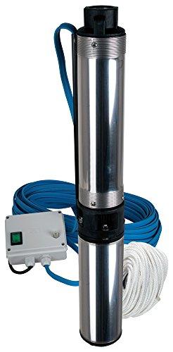 TIP 30175 Tiefbrunnenpumpe Edelstahl MSC 411 mit externer Kontrolleinheit bis 5500 lh Fördermenge