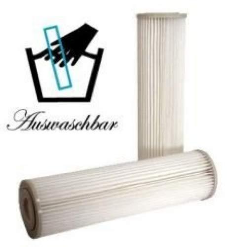 10 STÜCK Filter Membran PP Polypropylene Sediment 045µm -Auswaschbar f Wasserfilter Wasserfilteranlagen Osmose Umkehrosmose Osmoseanlagen -