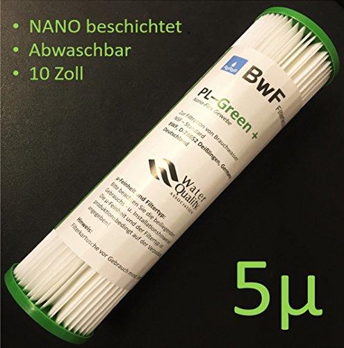 BWF ORIGINAL Neu NANO beschichtet Filter Membran Sediment 500µm -besser Auswaschbar- auch für OSMOSE UMKEHROSMOSE WASSERFILTER ANLAGEN SEDIMENTFILTER Polypropylene NANO beschichtet NEU …