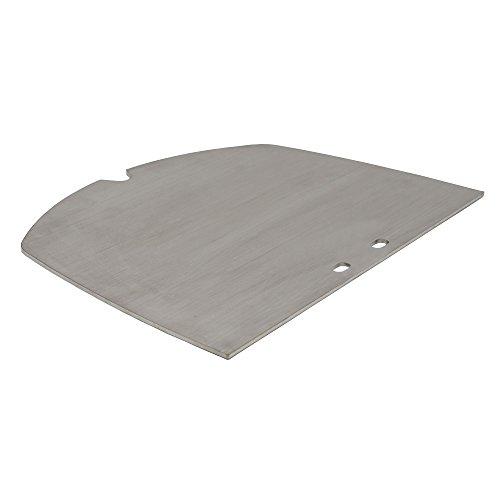 BBQ-TORO Edelstahl Grillplatte passend für Weber Q300 - Serie Elektrogrill und Gasgrill  passt exakt zu Q3000 - Q3200 - Q3400
